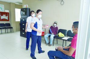 En riesgo de contagio empleados de la salud