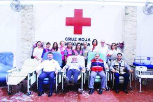 Recibe Cruz Roja generosa donación de Club Rotario