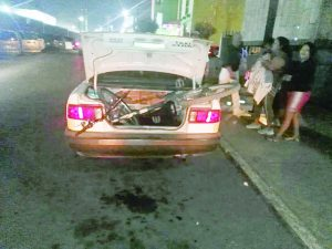 Herido un ciclista al impactar a taxi