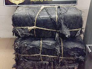 Caen 14 migrantes y carga de droga