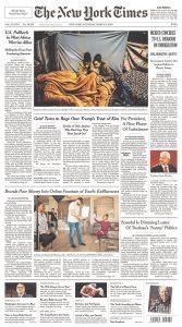 Aparecemos en The New York Times