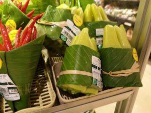¡Adiós bolsas de plástico!: Lo de hoy son las hojas de plátano