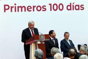 Ofrece AMLO informe de 100 días