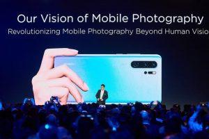 Lanza Huawei nuevos P30 con súper cámara