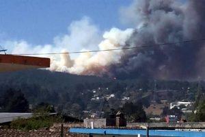 Lleva más de 24 horas incendio en Veracruz