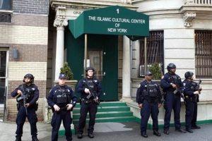 Custodia Policía mezquitas en NY