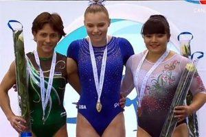 Gana Alexa Moreno el bronce en Bakú