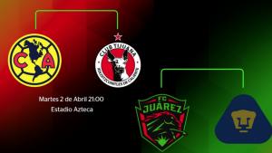Listos los días y horarios de semis de Copa MX