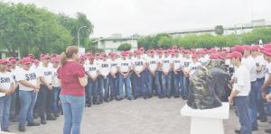 Apoyan a conscriptos