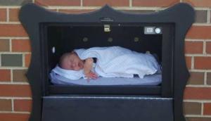 Estados Unidos instaló buzones para dejar a bebés no deseados