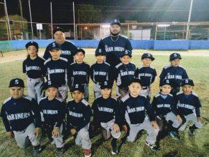 Marinero es la mejor novena de división 7-8 años en la Tamaulipeca