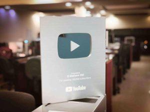 Recibe El Mañana Premio de Plata de Youtube