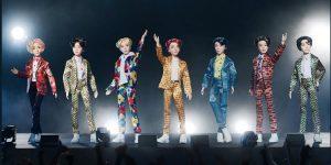 Muñecos BTS de Mattel causan polémica en redes sociales