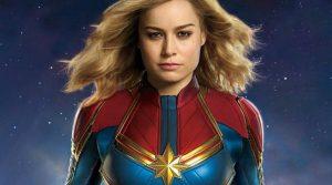 Capitana Marvel hace historia en estreno