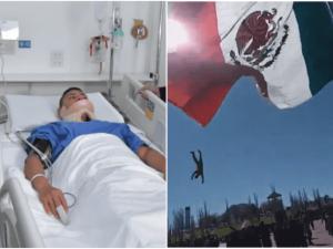 Soldado revela que se dejó arrastrar por bandera para proteger a niñas