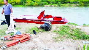 Rescatan del río cuerpo en descomposición de hombre
