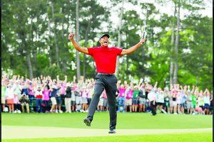 Torneos 'Majors' ha ganado Tiger Woods en su carrera.
