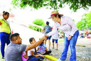 Traerá Carmenlilia  la 4T a Nuevo Laredo