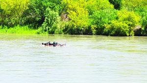 Muestra el río Bravo su gran peligrosidad