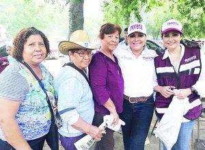 Propone Diana Cantú mejorar el transporte