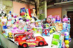 Exhorta Enfermería a  donar juguetes nuevos