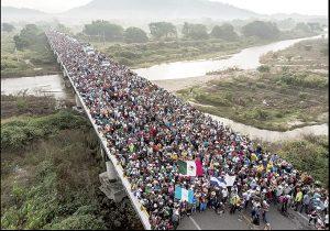 En redes se gestan las caravanas migrantes