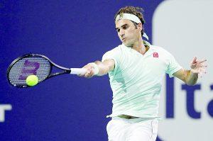 Es Federer 'maestro' en Miami
