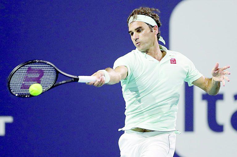 Federer jugará contra Isner la final de Masters de Miami