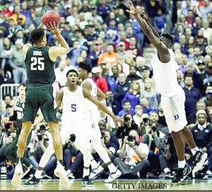 Echa Michigan State a Duke
