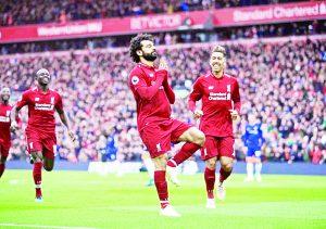 La cima roja en la Liga Premier