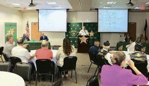 Entrega reconocimientos Departamento del Sheriff