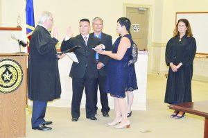 Nathan Chu tomó juramento como nuevo Juez Municipal Asociado