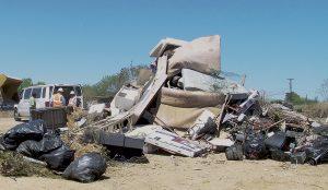 Realizan campaña de limpieza en El Cenizo