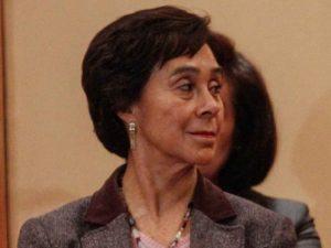 María de los Ángeles Moreno, la primera mujer que dirigió al PRI