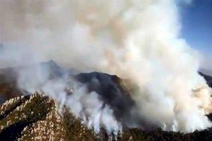 Suma 3 días incendio en sierra de San Luis Potosí
