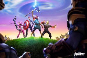 Llega Vengadores: Endgame a Fortnite