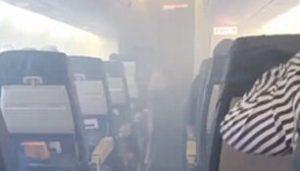 Aterriza de emergencia un avión en Laredo