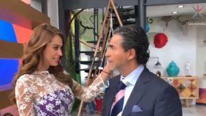 ¿Romance entre Yanet García y el Negro Araiza?