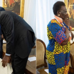 El Papa Francisco besa los pies de los líderes de Sudán del Sur