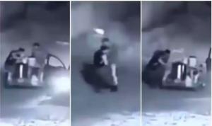 ¡Nadie se salva! sujetos asaltan a un tamalero en calles de Ecatepec