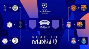 Listos los duelos de semifinales en la Champions League