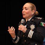 Mujer con 12 doctorados en la dirigencia de la Guardia Nacional