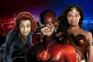 Niños superpoderosos