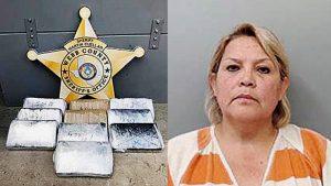 Arrestan a mujer con cocaína