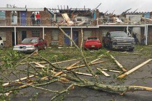 Azotan nueve tornados en Texas y Luisiana
