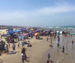 Recibe Playa Miramar cerca de un millón de visitantes