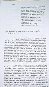 Demanda de Angelito contra el Municipio