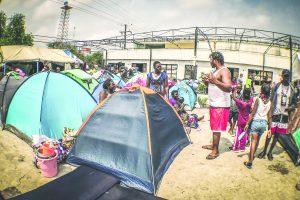 Se inunda albergue migrante