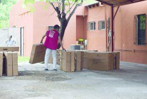 Llegan paquetes electorales