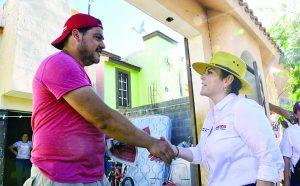 Luchará Carmenlilia por mejorar la salud